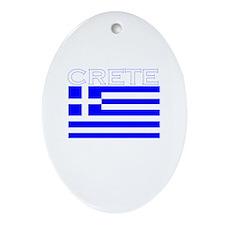 Crete, Greece Oval Ornament