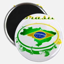 Pandeiro - Vintage Magnet
