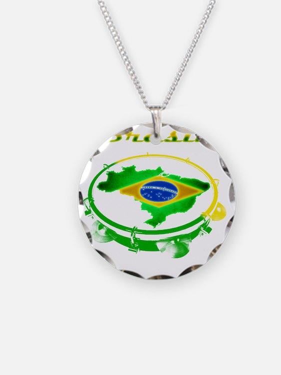 Pandeiro - Vintage Necklace