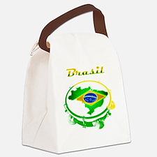 Pandeiro - Vintage Canvas Lunch Bag