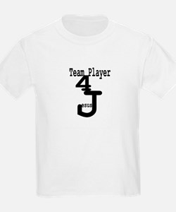 Team Player 4 Jesus T-Shirt