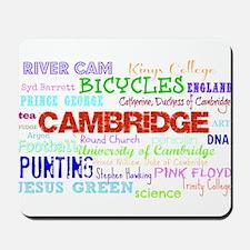 Cambridge Typography Mousepad
