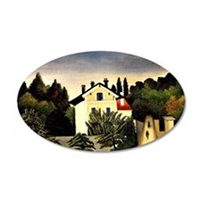 Landscape on Banks of the Oi Wall Decal