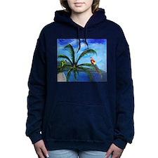 Tropical Parrots Hooded Sweatshirt