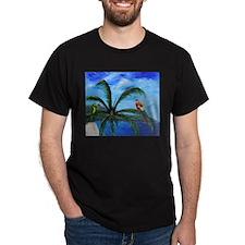 Tropical Parrots T-Shirt
