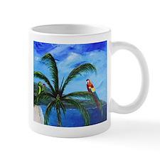 Tropical Parrots Mugs