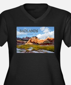 Mountains Sky in the Badlands National Park copy P