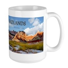 Mountains Sky in the Badlands National Park copy M