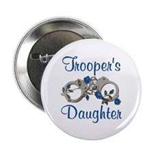 Trooper's Daughter Button