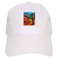Hoodoos in Bryce Canyon National Park Baseball Baseball Cap