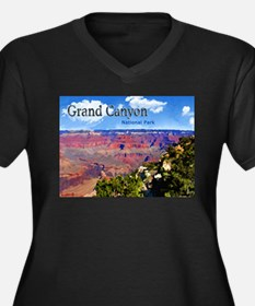 Grand Canyon NAtional Park Poster Plus Size T-Shir