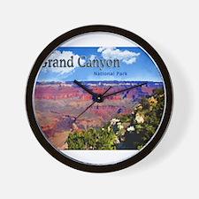 Grand Canyon NAtional Park Poster Wall Clock
