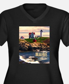 Cape Neddick Lighthouse Maine at Sunset Plus Size