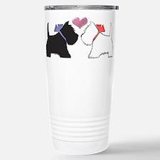 Westie Dog Art Travel Mug