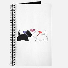 Westie Dog Art Journal
