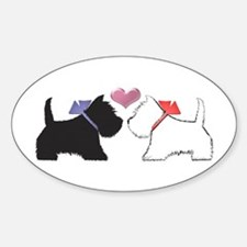 Westie Dog Art Decal