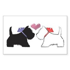Westie Dog Art Decal