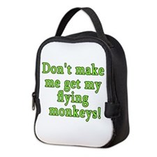 WOZ FLYING MONKEYS Neoprene Lunch Bag