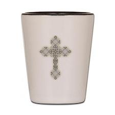Celtic Knot Cross Shot Glass