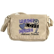 Peace Love Cure 1 Addison's Messenger Bag