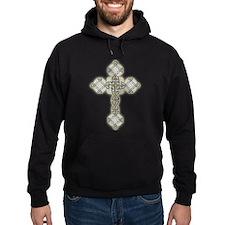 Celtic Knot Cross Hoodie