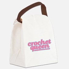 They Call Her the Crochet Queen Canvas Lunch Bag