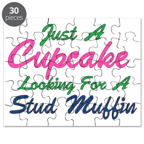 Cupcake Looking for Stud Puzzle