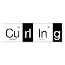 Curling Elementally Bumper Sticker