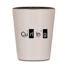 Curling Elementally Shot Glass