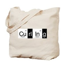 Curling Elementally Tote Bag Printed On Both Sides