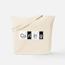 Curling Elementally Tote Bag