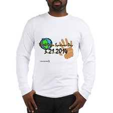 World Down Syndrome Day 2014 (DDB) Long Sleeve T-S
