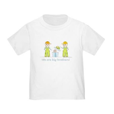 Twin Big Brothers T-shirt: Baby Brother