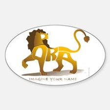 Parsa-Lion Oval Decal