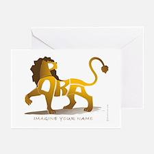 Parsa-Lion Greeting Cards (Pk of 10)