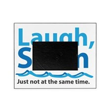 Laugh and Swim Picture Frame