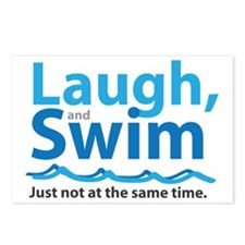 Laugh and Swim Postcards (Package of 8)