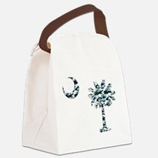 C and T 3 Canvas Lunch Bag