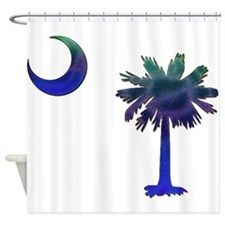 C and T 4 Shower Curtain