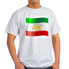 Parsa-Lion-Flag4 T-Shirt