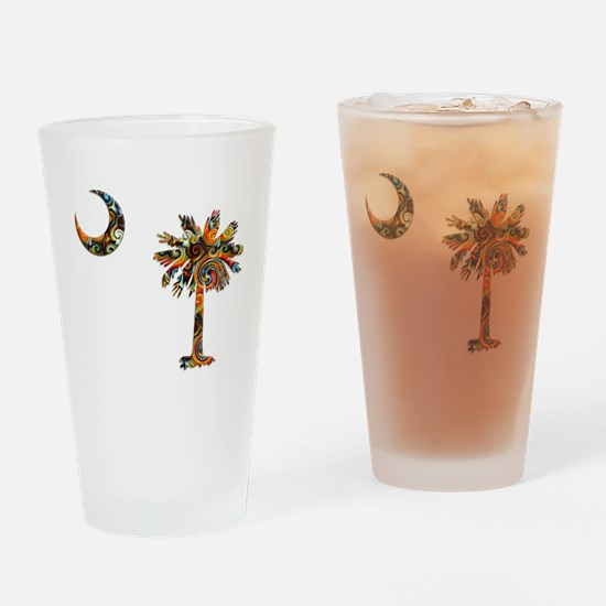C and T 7 Drinking Glass