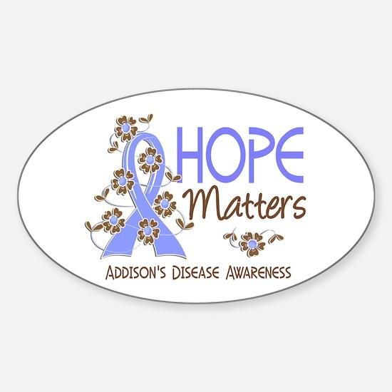 Hope Matters 3 Addisons Sticker (Oval)
