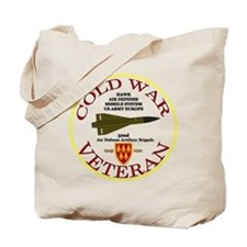Cold War Hawk Europe Tote Bag