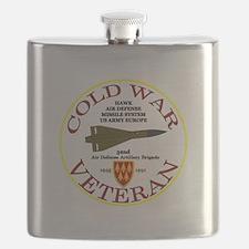 Cold War Hawk Europe Flask