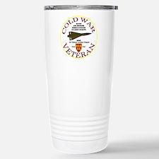 Cold War Hawk Europe Stainless Steel Travel Mug