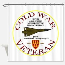 Cold War Hawk Europe Shower Curtain