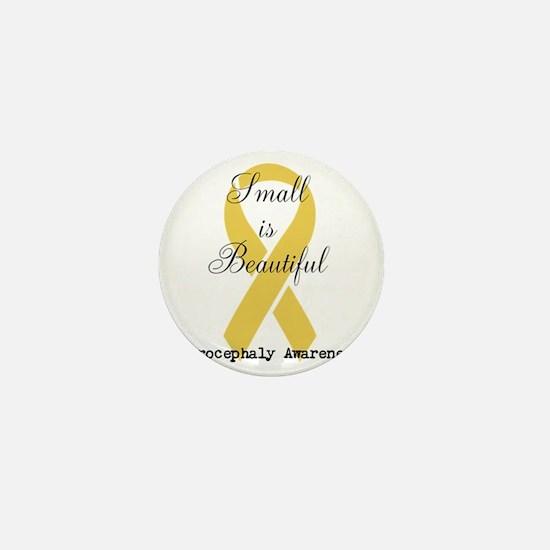 Microcephaly Awareness Mini Button