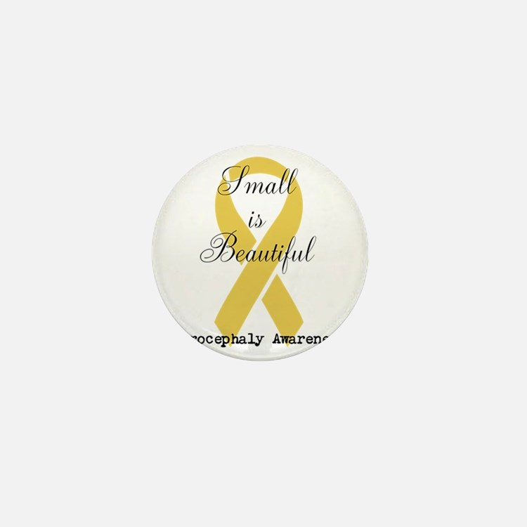 Microcephaly Awareness Mini Button