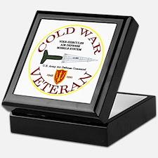 Cold War Nike Hercules AADCOM Keepsake Box