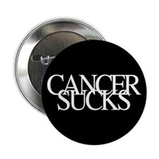 "Unique Cancer sucks 2.25"" Button (10 pack)"